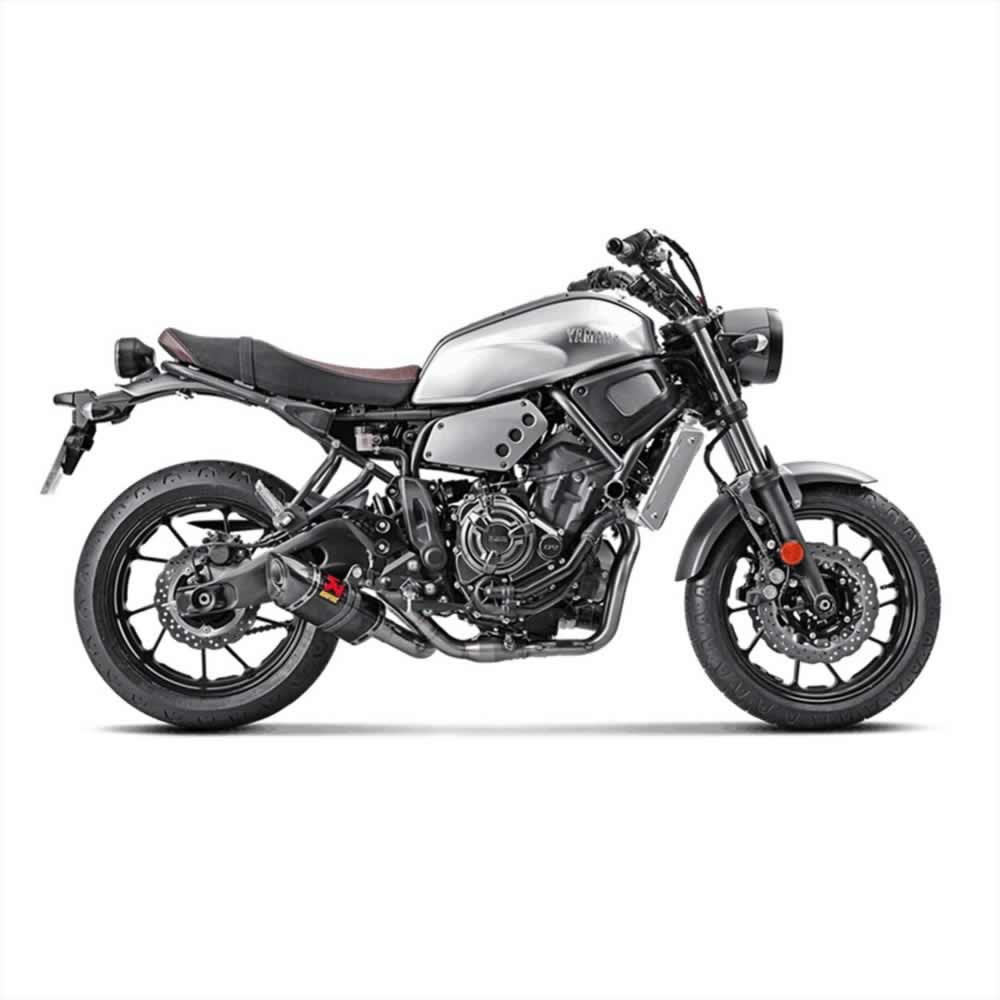 yamaha xsr 700 16 18 exhausts akrapovic by akrapovic. Black Bedroom Furniture Sets. Home Design Ideas