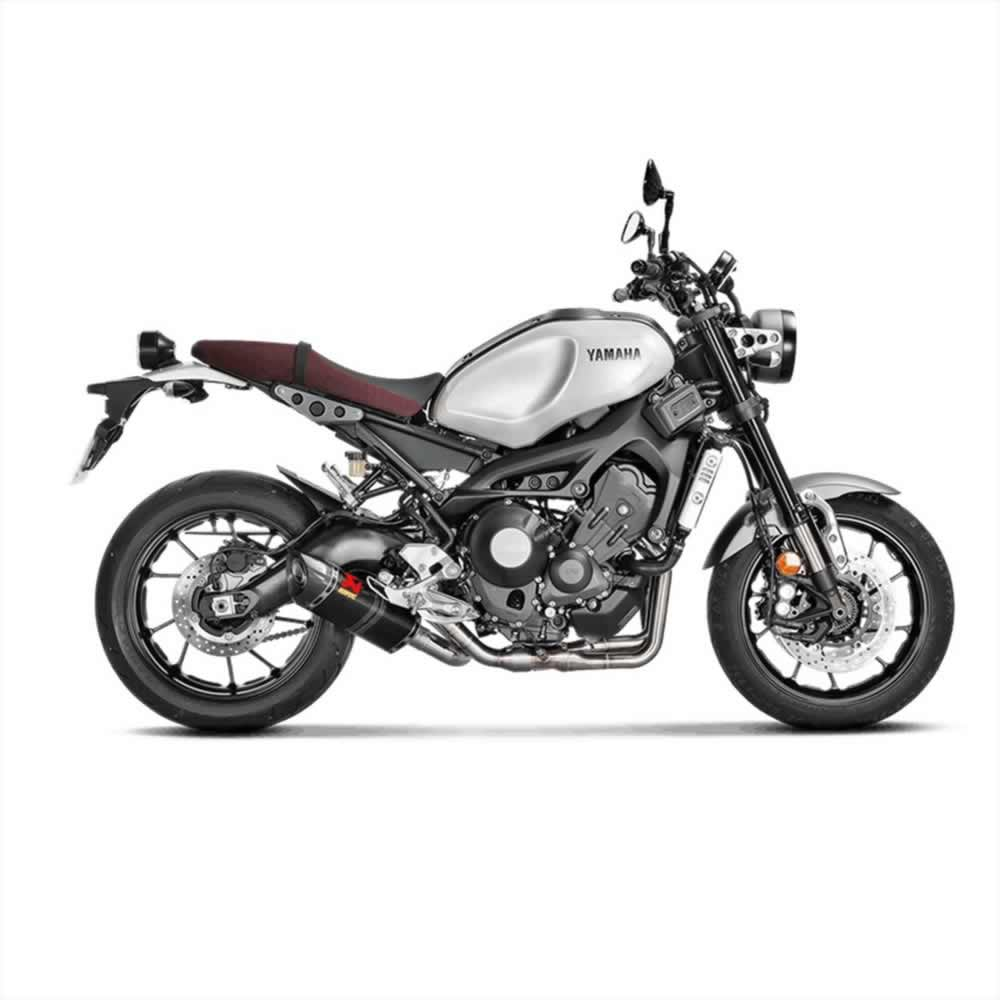 yamaha xsr 900 16 18 exhausts akrapovic by akrapovic. Black Bedroom Furniture Sets. Home Design Ideas